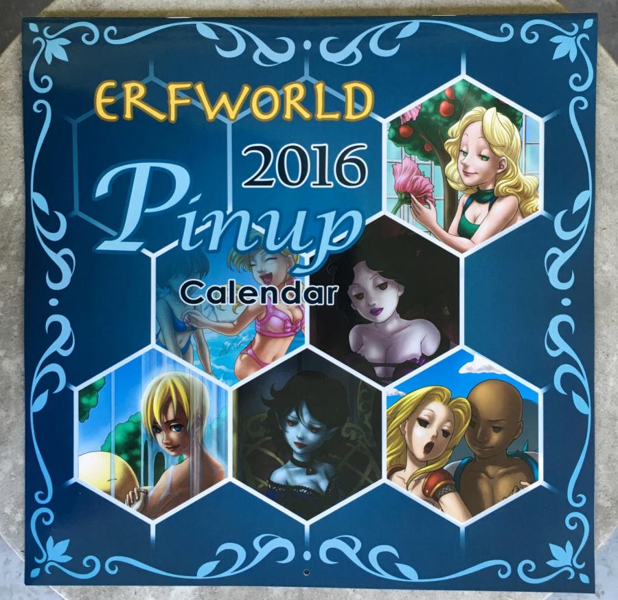 2016 Pinup Calendar