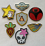 Battle Crest Lapel Pins (Set of all 7)