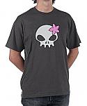 Wanda's Decrypted Skull Shirt