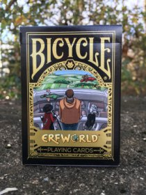 Erfworld Bicycle® Playing Cards - Black Deck