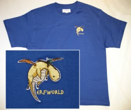 Embroidered Dwagon T-shirt
