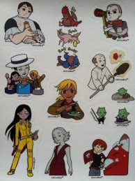 Erfworld Stickers